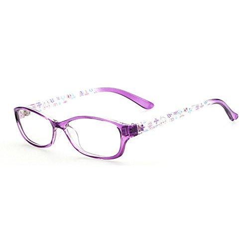 Hibote Mädchen Junge Brillen - Clear Lens Glasses Frame Geek/Nerd Brillen mit Car Shape Gläser Fall