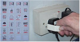 Plug Mate (pack of 4), makes it easier to remove plugs from sockets and includes picture labels to identify the appliance at the end of the wire!