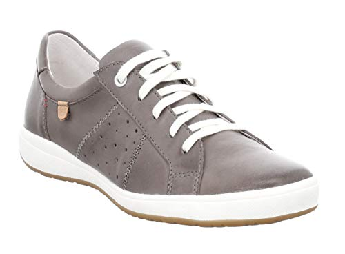 aren 01 Damen Low-Top Sneaker,Halbschuh,Schnürschuh,Strassenschuh,Business,Freizeit,grau,41 EU ()