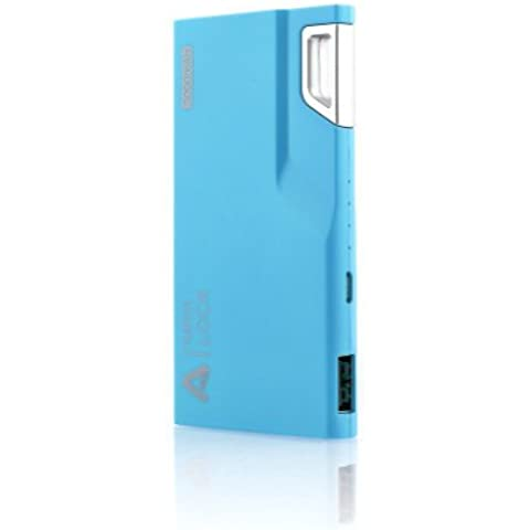 Aukey PB-09-AYES-A - Batería externa de 3000 mAh, color azul