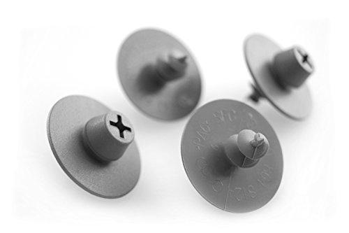 kh Teile Fußmatten Halter (grau) runde Druckknopf Befestigung