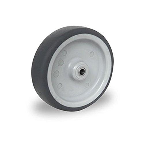 Preisvergleich Produktbild Einbaurad 150 mm Apparaterolle TPE