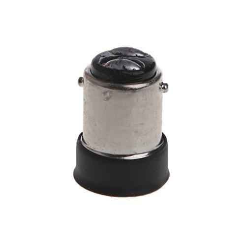 MAZE MA B15 Stecker auf E14 Buchse Lampensockel Adapter Konverter Halter Schwarz Ma-adapter