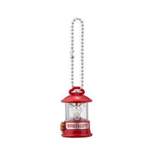 Preisvergleich Produktbild One Piece Lantern Mascot Strap Keychain - Monkey D. Luffy Clear Ver