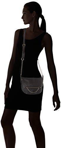 Le Temps des Cerises - Angelina 5, borsa a tracolla Donna Nero (Noir)