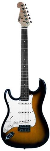 Tiger EGT4-SB E-Gitarre - Linkshänder - Sunburst