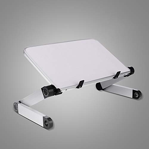 ShiXuan Aluminium Alloy Laptop Portable Foldable Adjustable Laptop Computer Tisch Stand Tray Notebook Lap-PC-Falttisch -