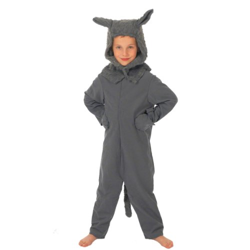 Timber Wolf Costume For Kids (Supplies Party Shrek)