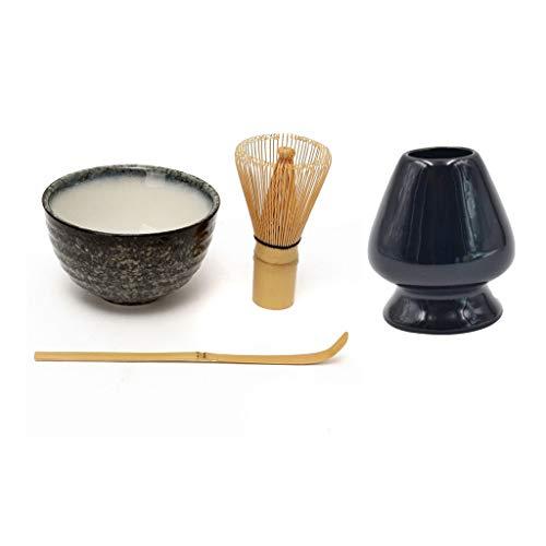 Kit de démarrage pour cérémonie de thé fait à la main - Convient pour une cérémonie traditionnelle de thé japonaise ou un usage quotidien Mountain Cloud