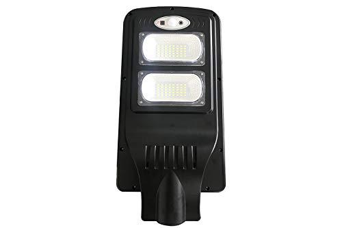 Faro LED, Lampione Stradale, 40 W, Luce Fredda, Energia Solare Crepuscolare