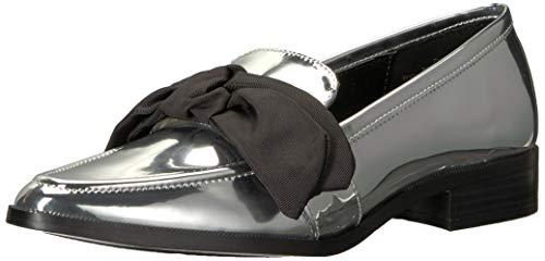 Nine West25035844 - Weeping synthetisch Damen, Silber (Silber), 36.5 EU (Schuhe Von West Für Nine Damen)