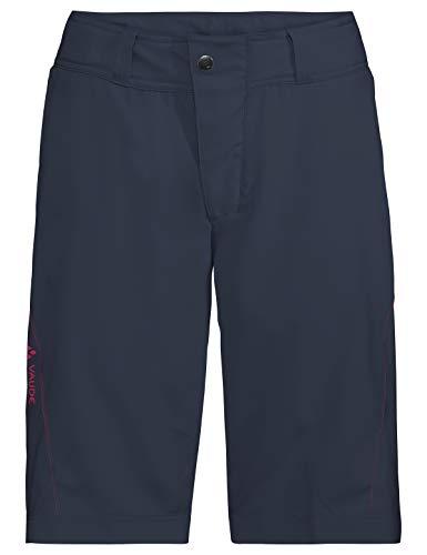 VAUDE Damen Ledro Shorts für den Radsport Hose, Eclipse, 40