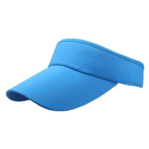 VECDY Unisex Hüte Männer Frauen Sport Stirnband Classic Sun Sports Visor Hat Cap Damen Strandhut Herren Golf Hüte Reisehut Mode Strandhut (Für Männer Knit Visor-hüte)