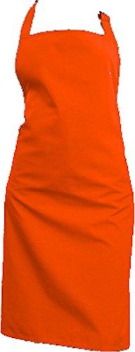 ARBEITS-SCHÜRZE, Farbe: ORANGE ... schützen Sie Ihre Kleidung vor Staub und Modellagematerial