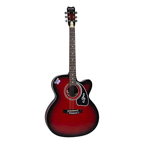 9. Ketostics Givson Venus Special Red Acoustic Guitar