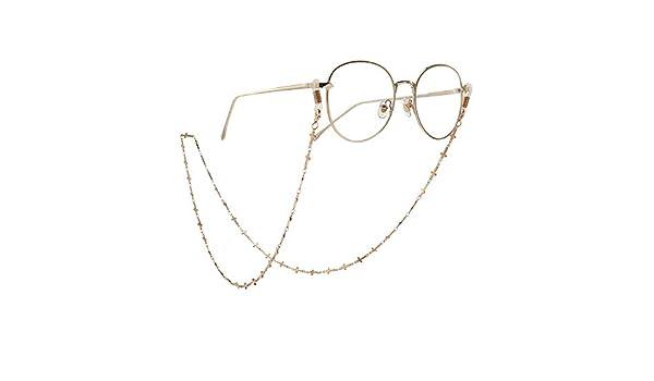 Barukra Occhiali Sportivi Casual Corda per Occhiali Portaocchiali Catene Cinghia da Collo Antiscivolo Corda per Occhiali Accessori per Occhiali