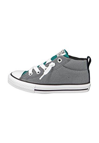 CONVERSE 651767C 27/34 street scarpe bambino mid elastico Rebel Teal Thunder Mouse
