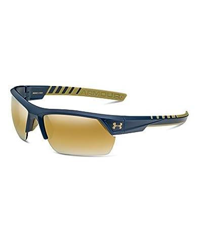 Under Armour Men's Igniter 8600051-419591 Rectangular Sunglasses, Navy, 66