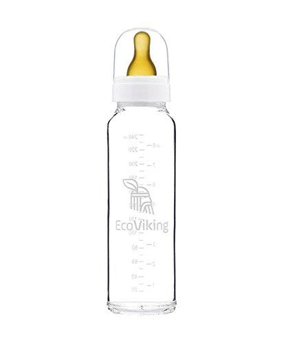 Eco Viking EV0047 Standard-Babyflasche, 240 ml, Mehrfarbig Preisvergleich