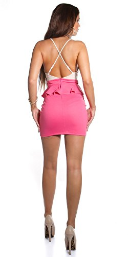 ROBE SEXY COULEUR BEIGE.! Rose - Beigecoral