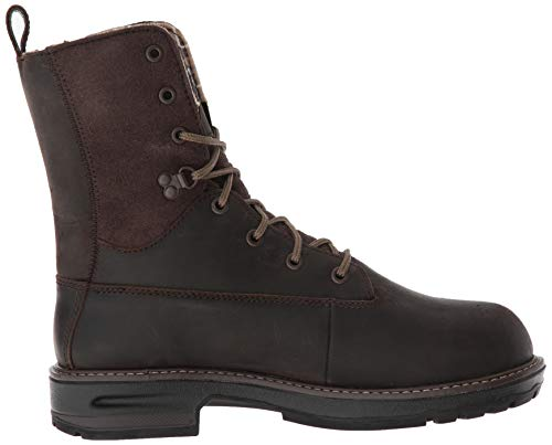 Timberland Pro Women s Hightower 8  Composite Toe Waterproof Insulated Industrial Boot  Brown Distressed Leather  6 M US