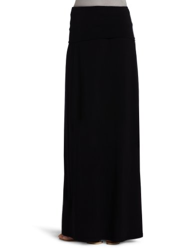 Splendid Damen, A-Linie, Rock, 2 in 1 Maxi Skirt/Dress Schwarz