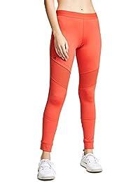 6f3cff66609 adidas by Stella McCartney Women's Performance Essentials Long Leggings,  Core Red, X-Small