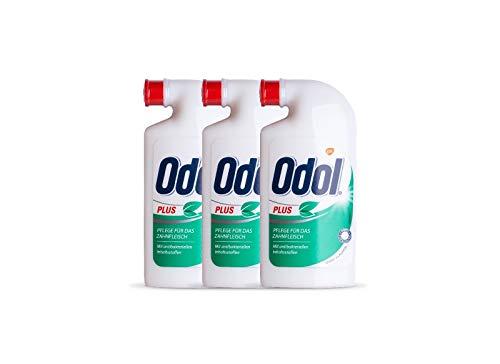 3x Odol Plus Mundspülung Konzentrat 125 ml