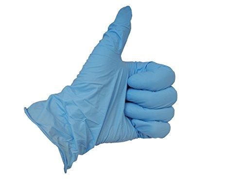 Einmalhandschuhe Nitril High Risk puderfrei, hautfreundlich Kategorie 3 100 Stück (XXL)