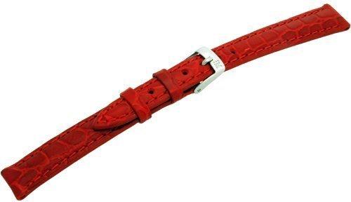 Morellato  a01d0751376083cr12 cinturino in pelle donna liverpool rosso 16 mm