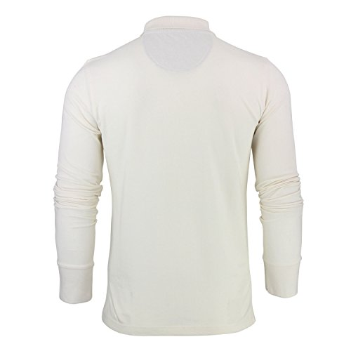 Brave Soul Herren Poloshirt, Einfarbig Natur