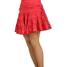 Motony Mujer Latin Danza Vestido Latino Baile Etapa Traje Danza de latín Rendimiento Falda