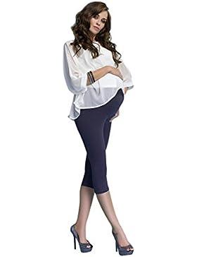 [Sponsorizzato]Premaman Leggings Cotone Pantaloncino Corto 3/4 Fuseaux Maternità Molto Confortevole