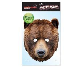 Rubie's-déguisement officiel - Rubie's-Masque - Carton Ours - MBEAR001