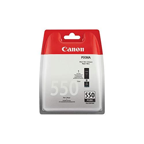 Canon PGI-550 original Tintenpatrone  Schwarz für Pixma Inkjet Drucker MX725-MX925-MG5450-MG5550-MG5650-MG6350-MG6450-MG6650-MG7150-MG7550-iP7250-iP8750-iX6850