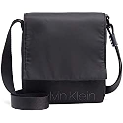 Calvin Klein Shadow Reporter With Flap Black