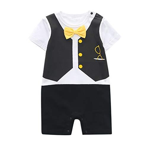 Softshell Overall Herren Krawatte Outfits Cartoon Strampler Overall Kleidung