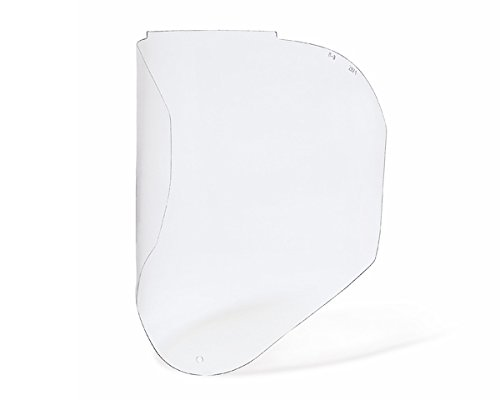 Honeywell 1011627 Clear Polycarbonate Bionic Replacement Visor anti-fog and anti-scratch