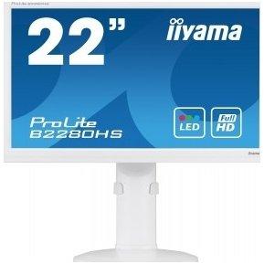 Iiyama ProLite B2280HS-1 - LED monitor - 22