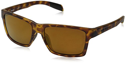 Native Eyewear Flatirons Polarized Sunglasses, Desert Tort Frame