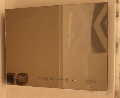 Preisvergleich Produktbild Gowe TV-Spiegel, 48,3cm (19cm), Android 4.2, fürBadezimmer, Wasserdicht, mit WiFi und Bluetooth, Panel Farbe: Spiegel-Finish