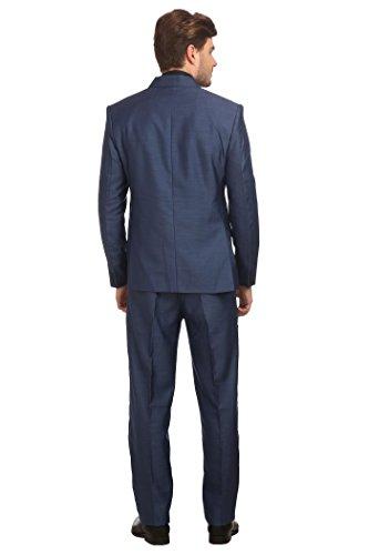 Wintage - Costume - Uni - Manches Longues - Homme Bleu Marine