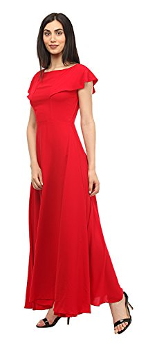 LADY STARK Women\'s Cocktail Dress (Red, Medium)