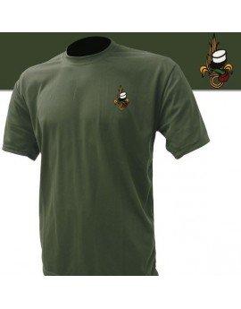 Tee shirt militare ricamato Legione-Cachi, XXL