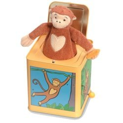Jack The Monkey Tin Jack In The Box by Jack Rabbit Creations (English Manual)