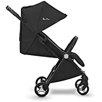 Silver Cross Jet Travel Stroller, Lightweight and Cabin Approved Pushchair – Ebony