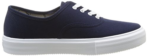 Victoria Ingles Lona, Baskets mode mixte adulte Bleu (Marino)