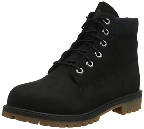 Timberland 6 in Premium Waterproof, Stivali Donna, Nero (Black), 40 EU