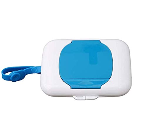 Babytücher Reinigungstücher Spender für Wet Tissue, Tragbar Reisen Kind Tissue Box Kinderwagen Wickeltasche (Slim-tissue-box)