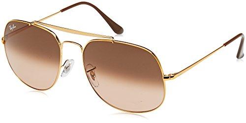 Ray-Ban Herren Sonnenbrille Rb 3561, Light Bronze/Pinkgradientbrown, 57